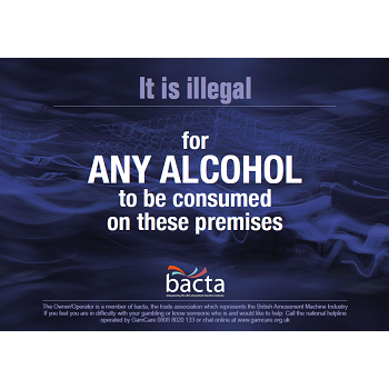 Bacta No Alcohol Poster