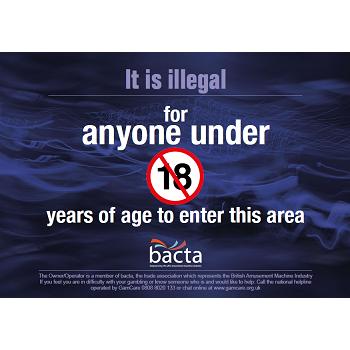 Bacta No Under 18s Poster