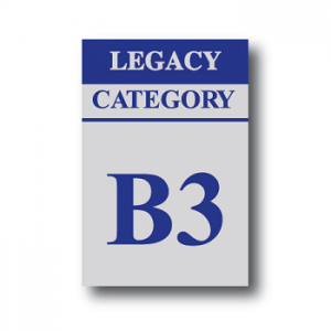 Bacta Cat B3 Legacy Sticker