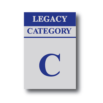 Bacta Cat C Legacy Sticker
