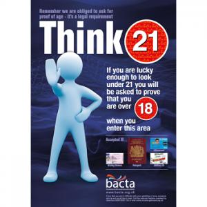 Arcade Think 21 Arcade A3 poster