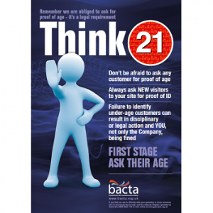 Bacta Think 21 Office A3 poster
