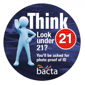 bacta Think 21 badge