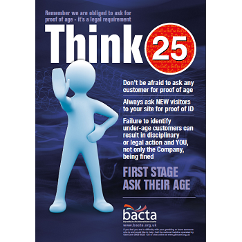 Bacta Think 25 Office A3 poster
