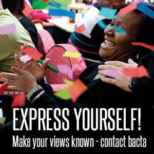Express Yourself – Contact bacta