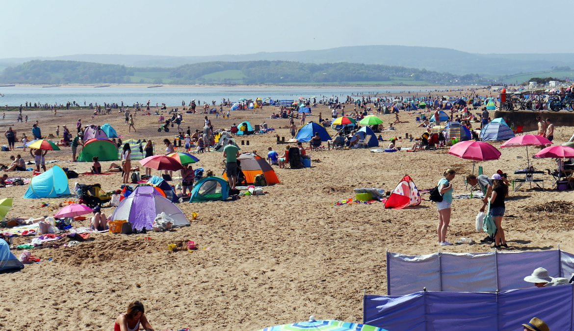 Hottest early May bank holiday on record packs Britain's piers