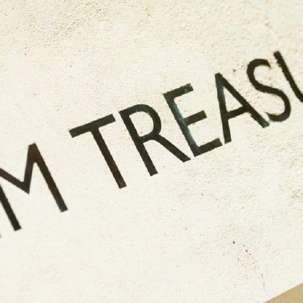 Bacta HM Treasury wall plate