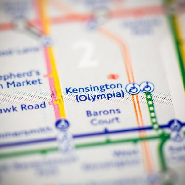 Olympia Tube Map ACOS networking