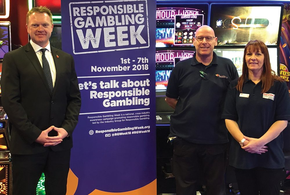 Bacta members play their part in Responsible Gambling success