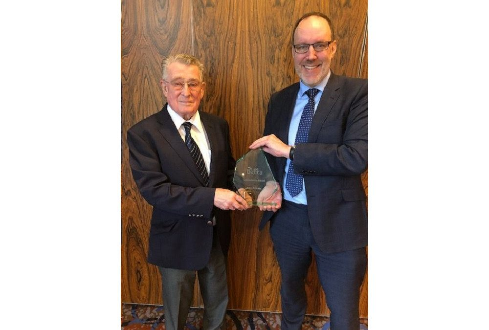 Alan Buckley honoured for life long contribution to the industry
