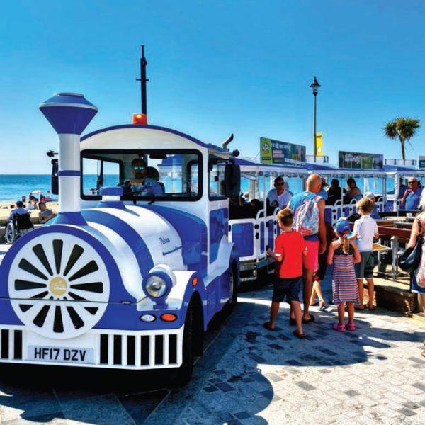 Seaside train ride John White