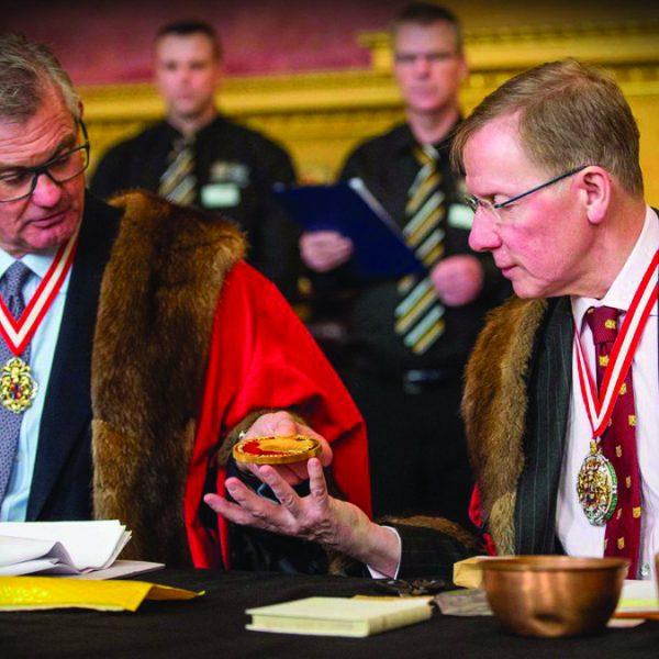 Verdict of the Pyx ceremony Coins Royal Mint