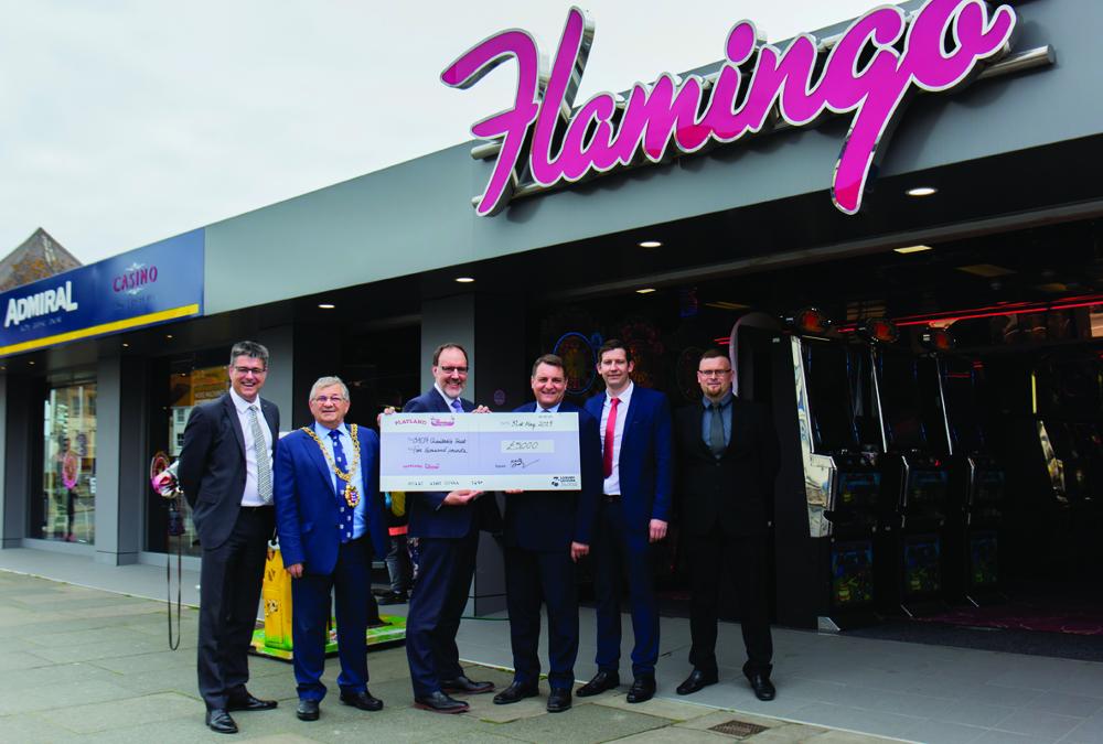 Bacta Charitable Trust receives £5,000 donation
