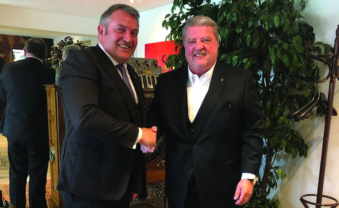 Frost re-elected as Euromat President