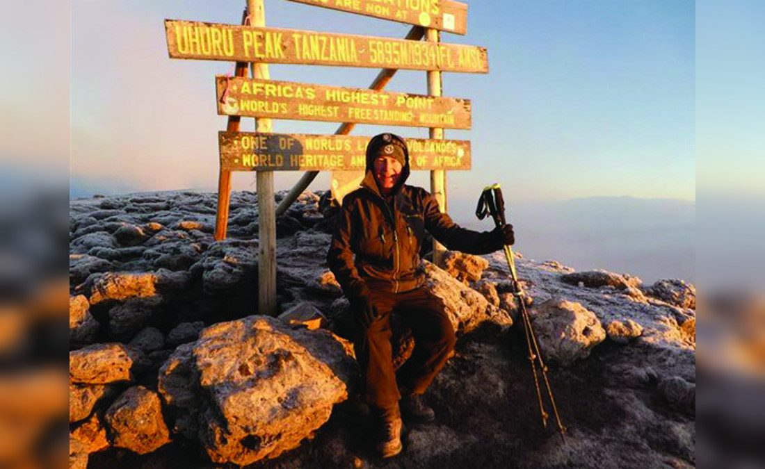 HB Leisure doubles donations as chairman conquers Kilimanjaro