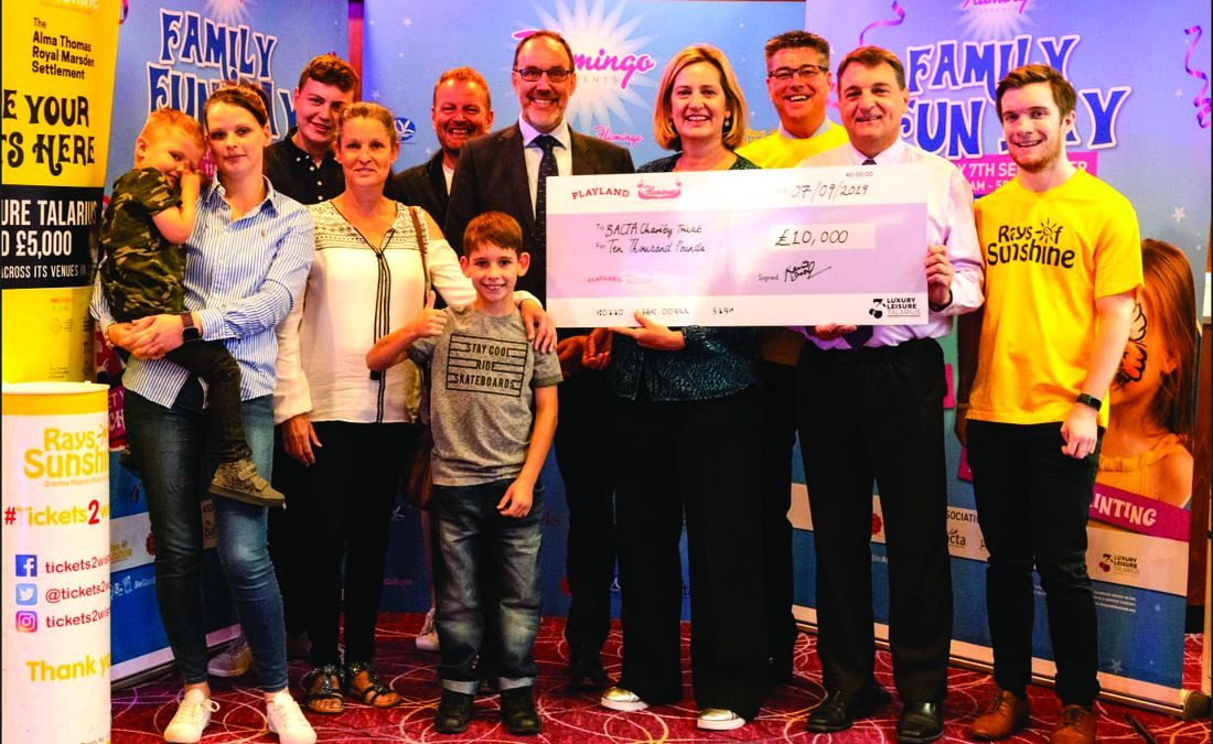 Flamingo Amusements hosts VIP fun day for Tickets2Wishes