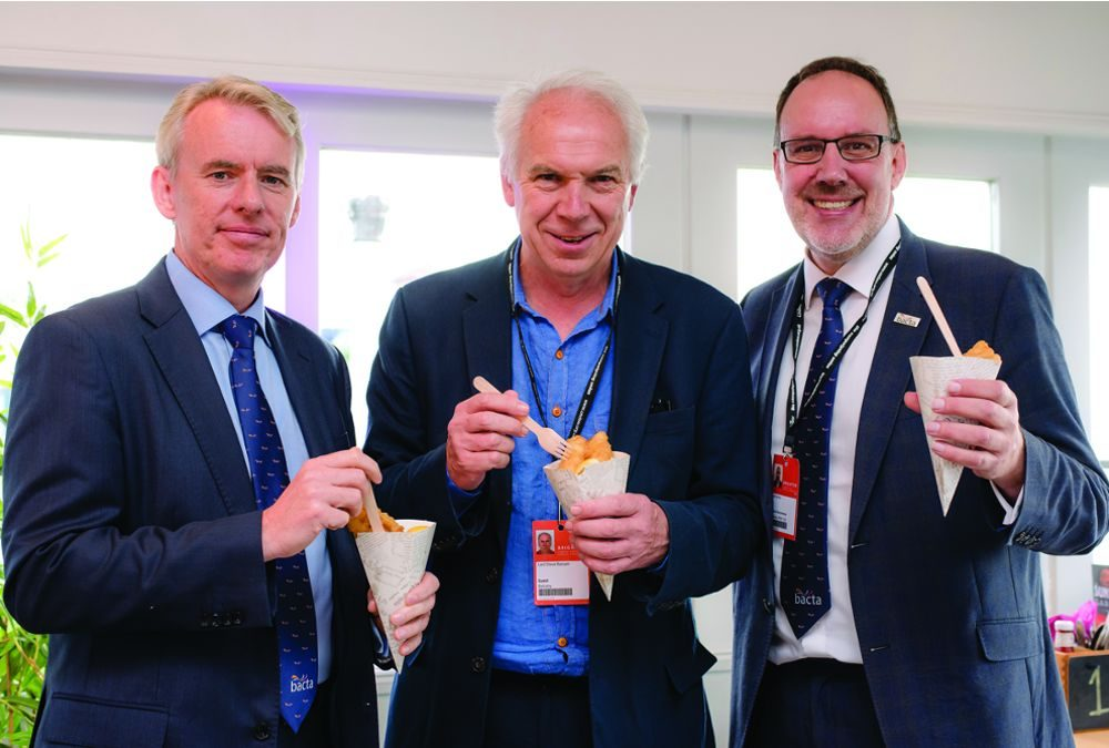 Bacta hosts seaside reception for Labour MPs