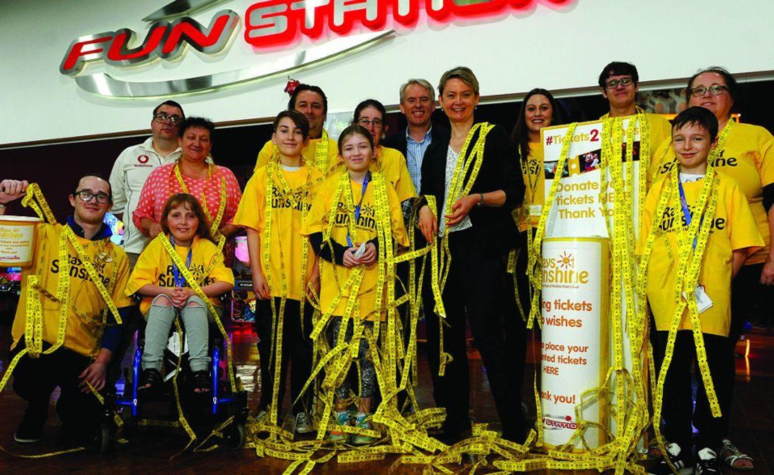 Bacta celebrates charity landmark through #Tickets2Wishes