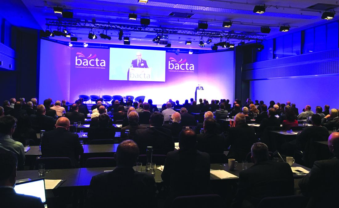 In it together: Miller rallies the troops at the Bacta convention