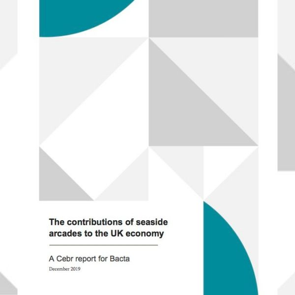 Cebr report - contributions of seaside arcades to the UK economy