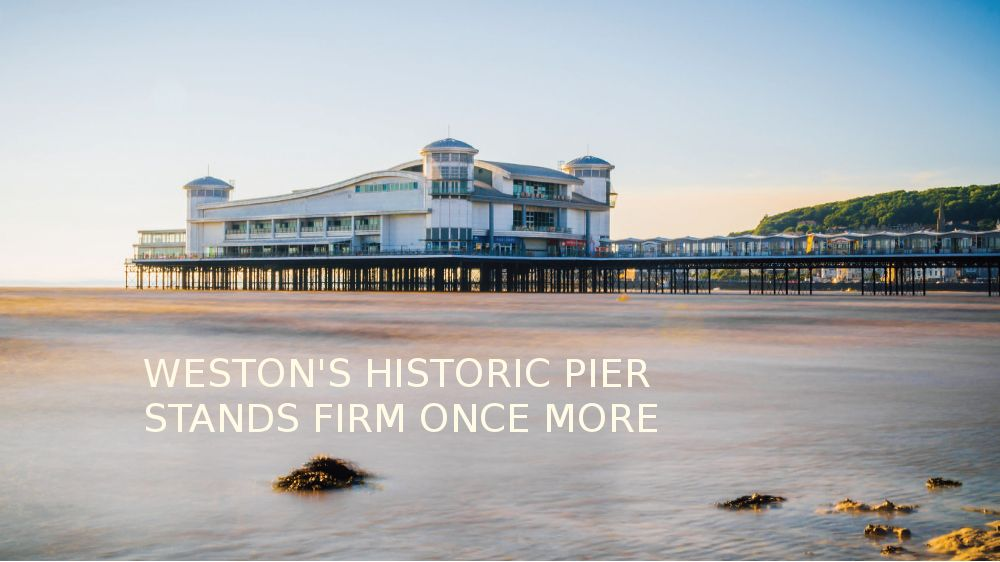 Westons pier stands firm once more