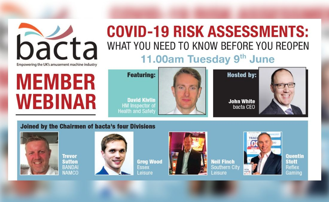 Watch the Covid-19 Risk Assessments webinar: What you need to know before you reopen