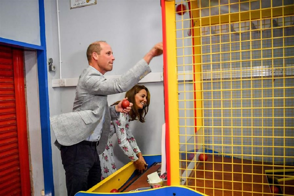 We Are Amused! Welsh Arcade Welcomes Royalty
