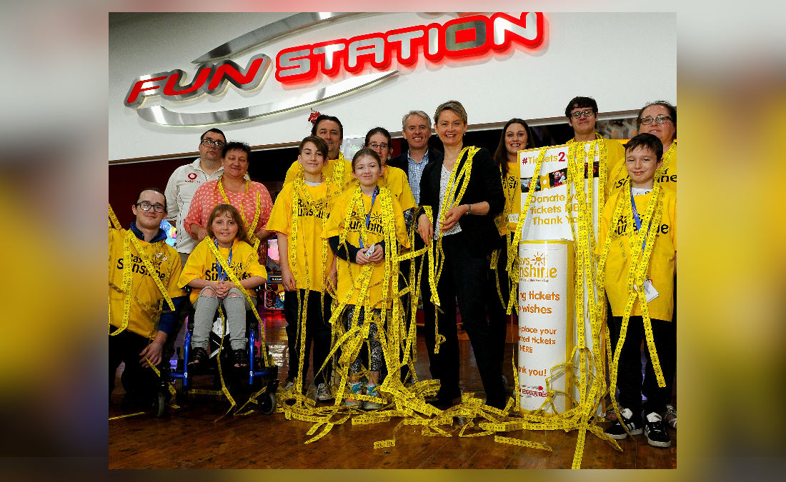 Funstation makes £4,000 Tickets2Wishes Donation