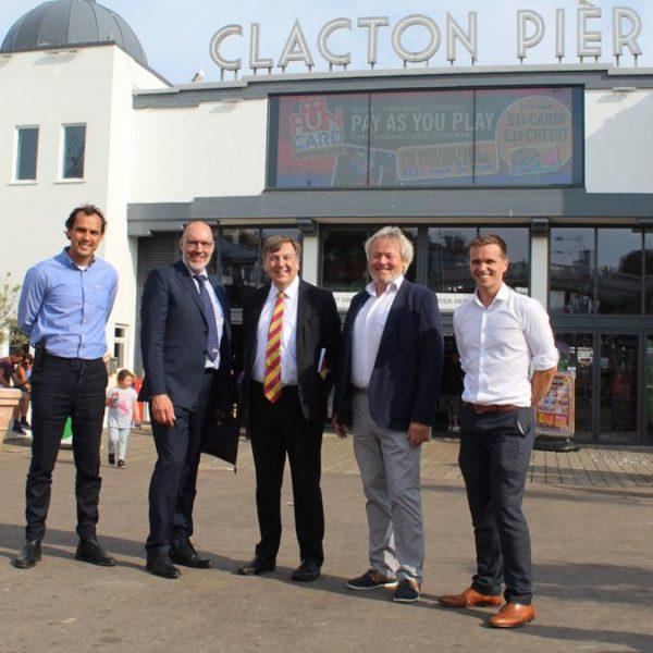 John Whittingdale Clacton visit