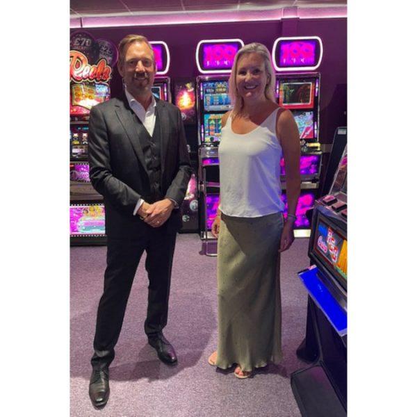 Neil Finch and Caroline Dinnage MP DCMS