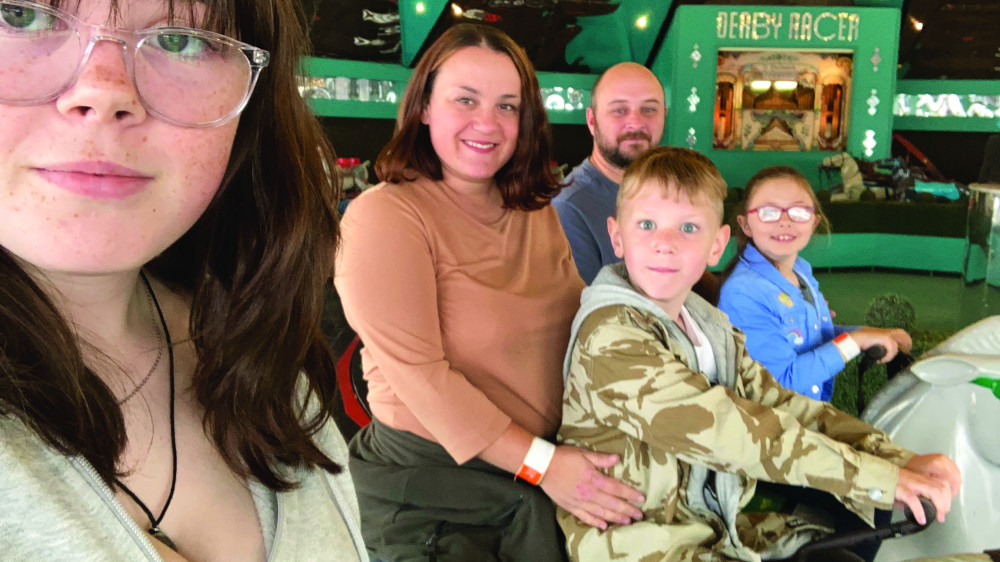 seaside selfie MP gifts family day trip